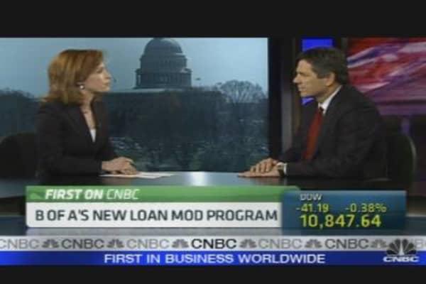 B of A's New Loan Mod Program