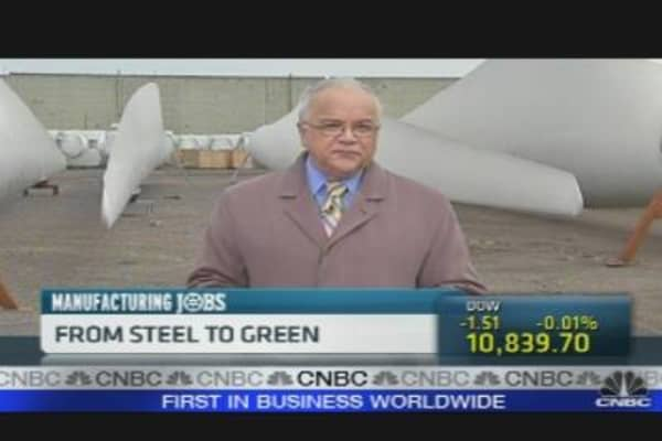 From Steel to Green
