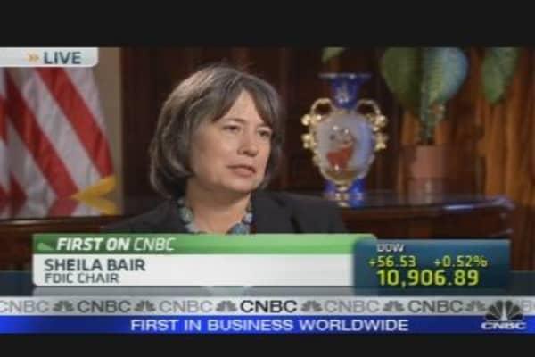 FDIC's Bair on Banks