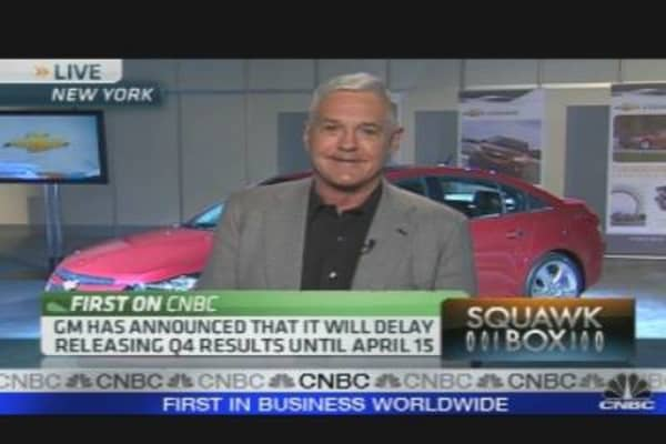 GM's Lutz: Customers Are Back