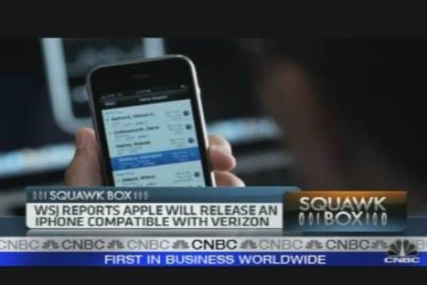 Verizon May Get an iPhone