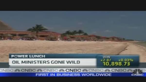 Oil Ministers In Cancun