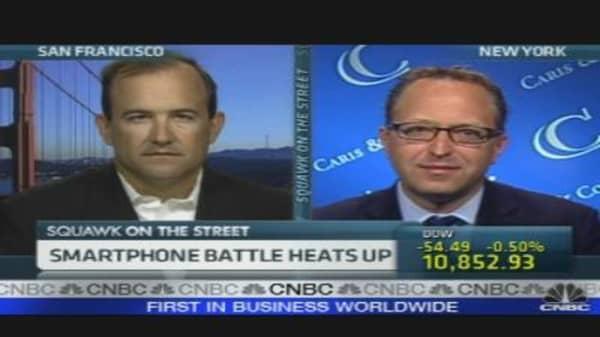 Smartphone Battle Heats Up