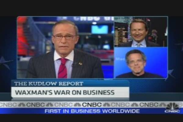 Waxman's War on Business
