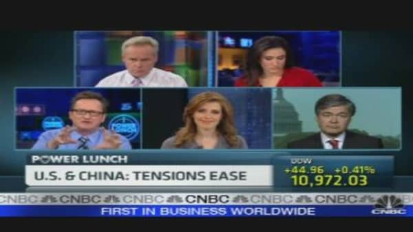 U.S.-China: Tensions Ease