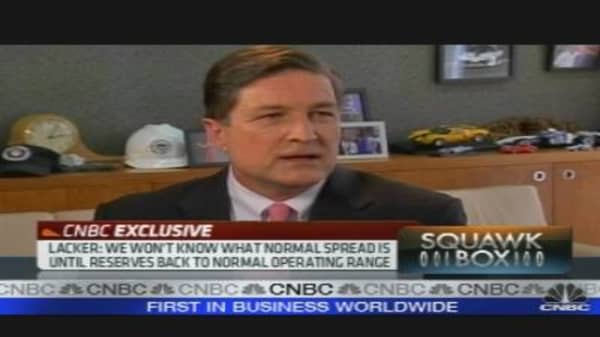 One on One With Fed's Lacker