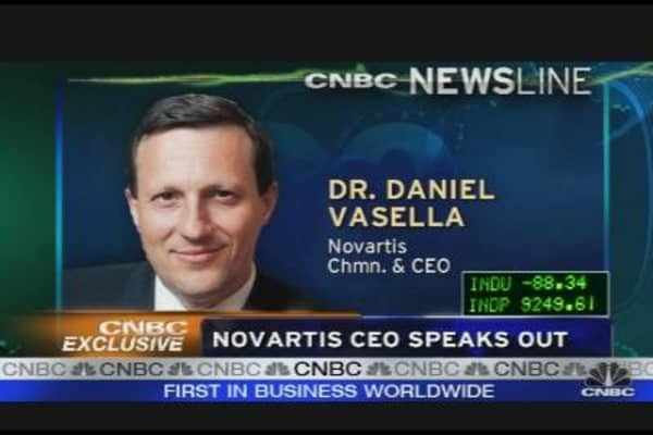 Novartis CEO Speaks Out About Arsonist Attack