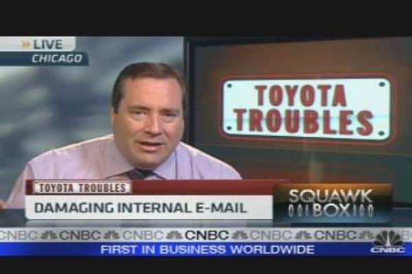 Toyota Exec Warned Company to