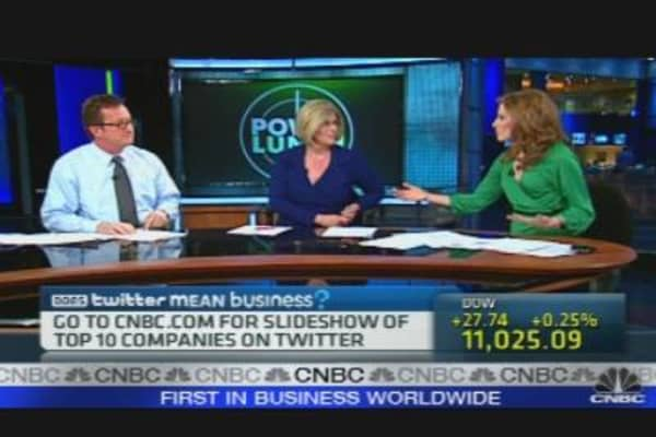 Twitter's Business Boost