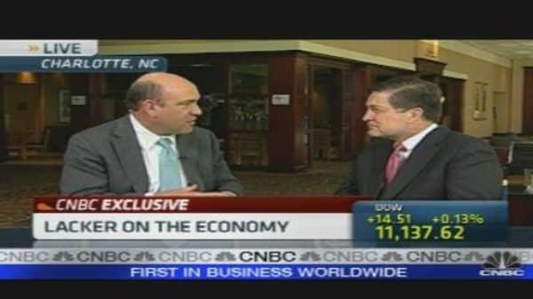 Lacker on the Economy