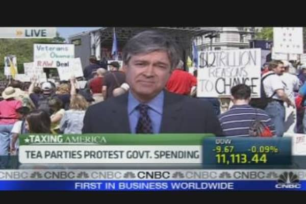 Tea Party Has Anti-Tax Day Celebration
