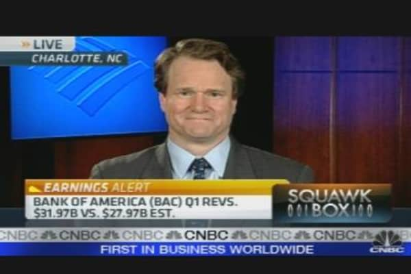 BofA CEO Breaks Down Earnings