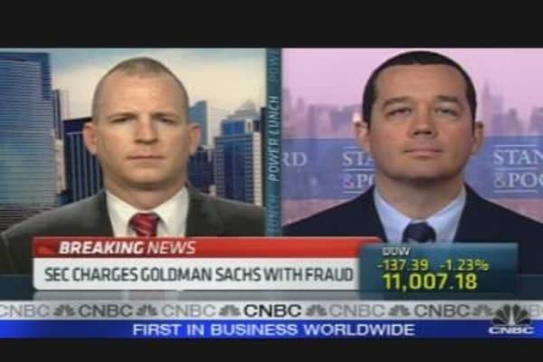 SEC Charges Goldman Sachs