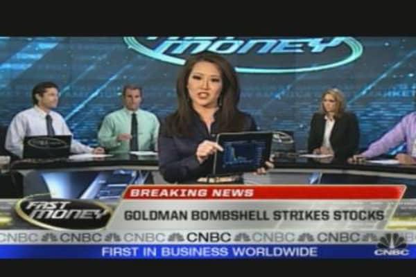 GS Shocker Knocks Market