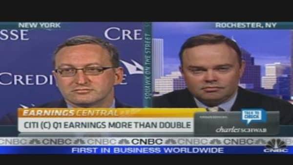 Citi Earnings Beat Expectations
