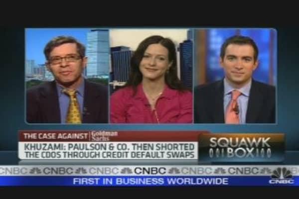 Following the Goldman Fallout
