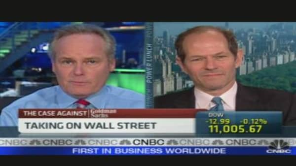 Spitzer on Goldman