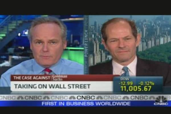 Spitzer on Goldman