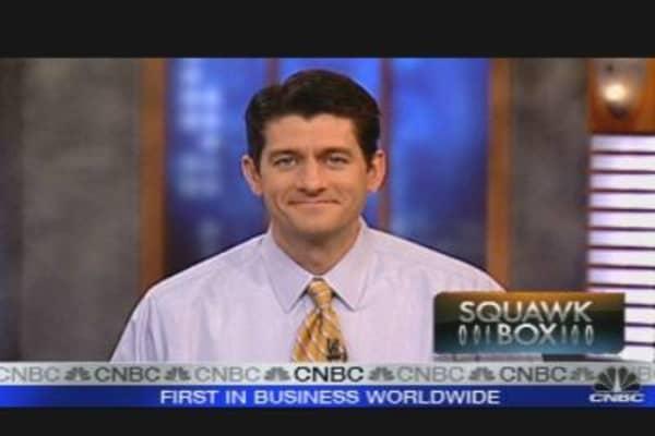 Rep. Paul Ryan on Financial Reform