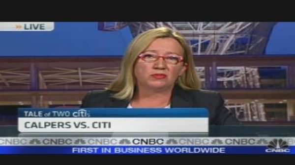CALPERS vs. Citi