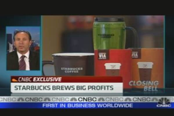 Starbucks Brews Big Profits
