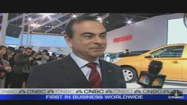 Nissan CEO: Auto Crisis is Ending