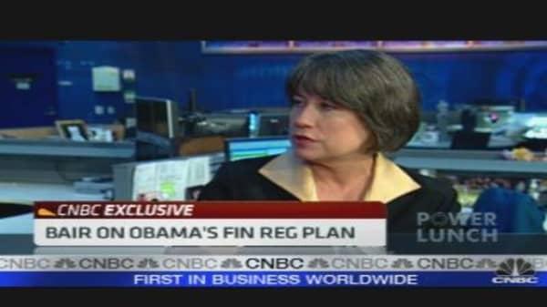 Bair on Obama's Fin Reg Plan