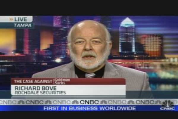 Bove: Goldman a Buy