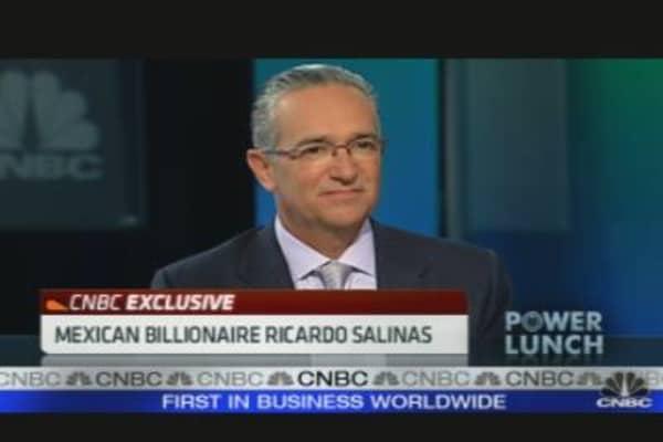 Mexican Billionaire Ricardo Salinas