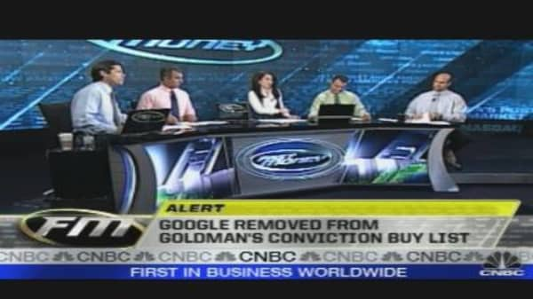 Google Removed from Buy List