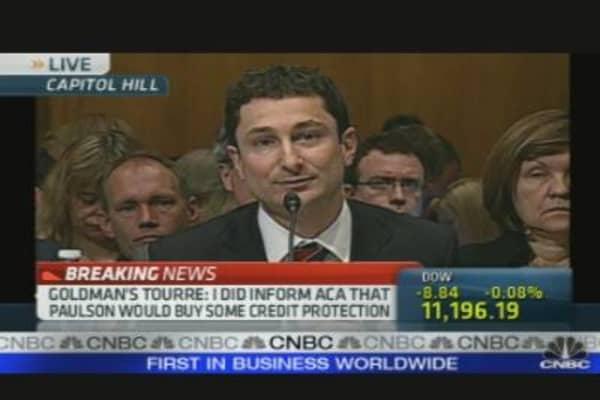 Goldman Hearing: Tourre's Opening Statement