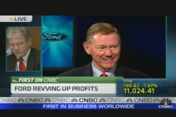 Ford Revs Up Profits