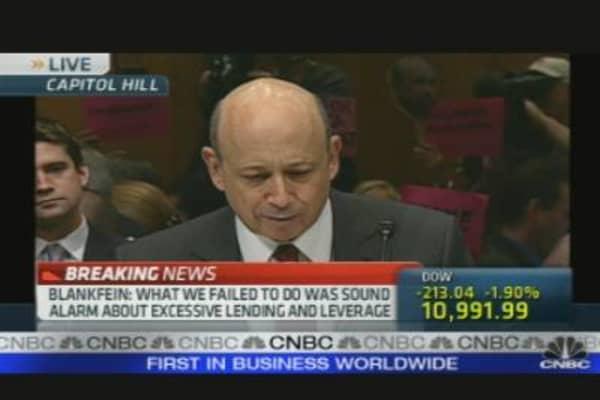 Goldman's Lloyd Blankfein