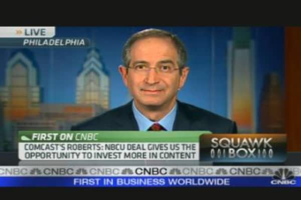 Comcast CEO on Earnings, Outlook