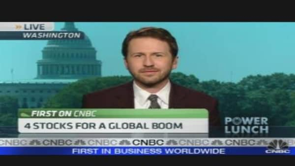 4 Stocks for a Global Boom