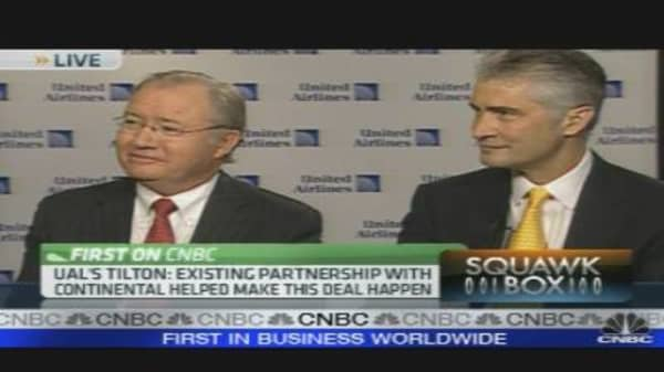 Airline CEOs on Merger