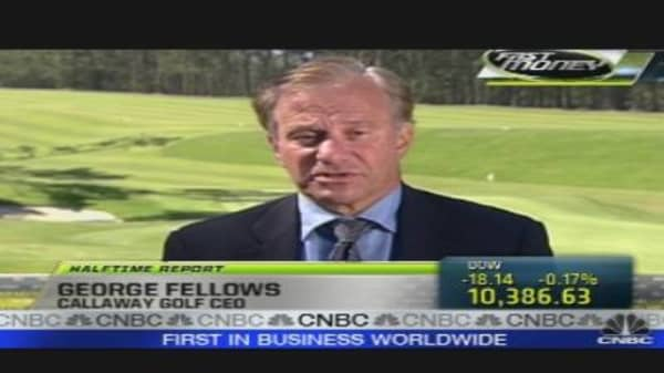 Call to the Floor: Callaway Golf CEO