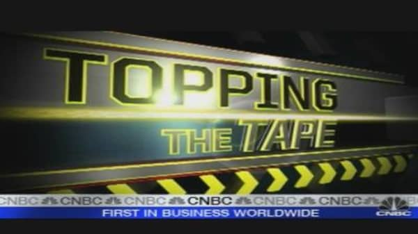 Topping the Tape: Apple