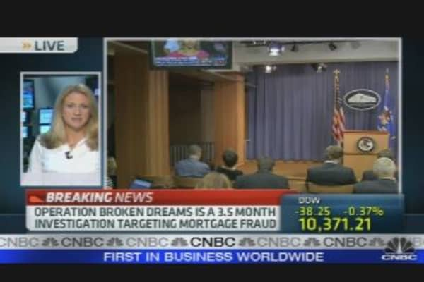 Breaking News: Mortgage Probe