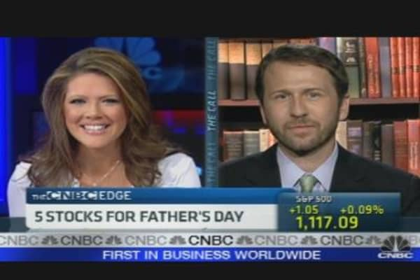 5 Stocks for Fathers Day