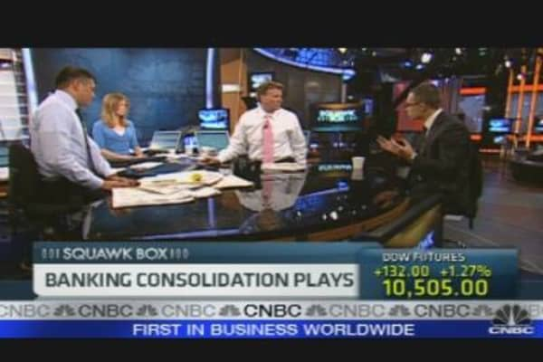 Banking Consolidation Plays