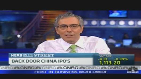 Spotlight on Reverse Chinese Mergers