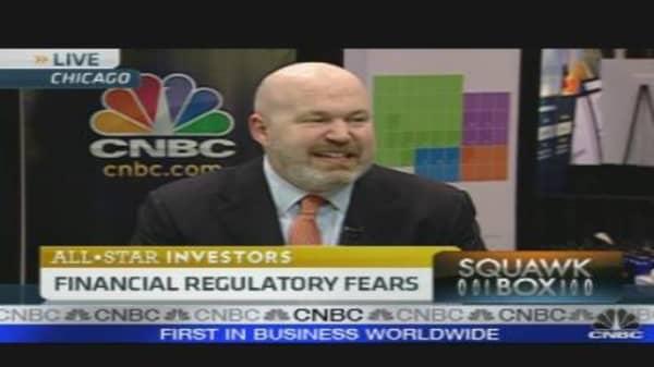 Financial Regulatory Fears