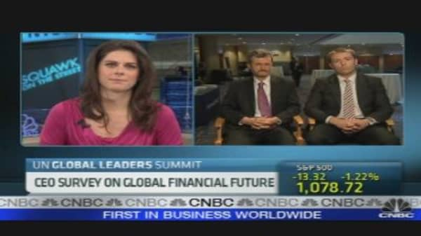 CEO Survey on Global Financial Future