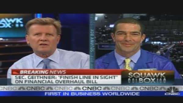 Markets Respond to FinReg