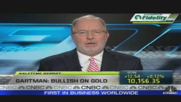 Gartman Bullish on Gold