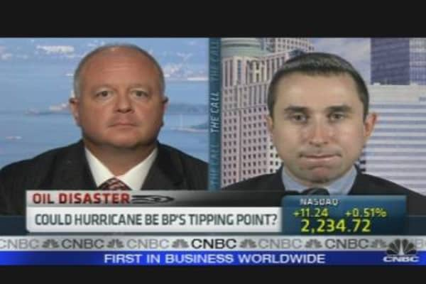 Hurricane: BP's Tipping Point?