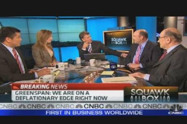 Greenspan on European Debt