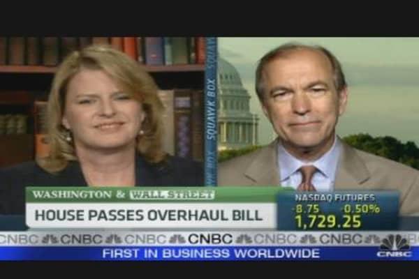 House Passes Overhaul Bill