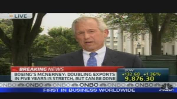 Boeing CEO on the Economy, Exports